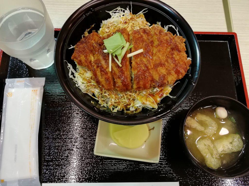 アドベンチャーワールド ソースカツ丼画像