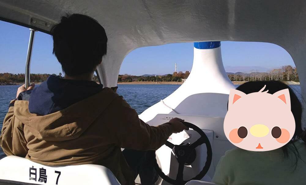 赤穂海浜公園 スワンボート画像