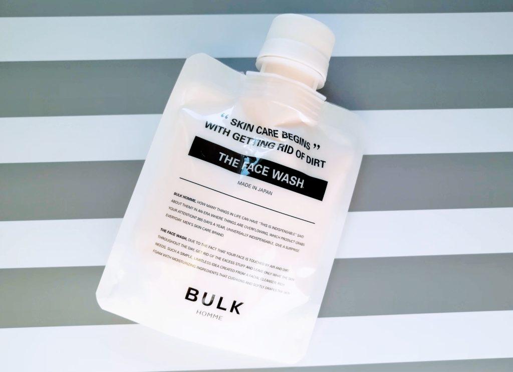 バルクオム洗顔 パッケージ画像